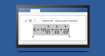 Equazione in un documento