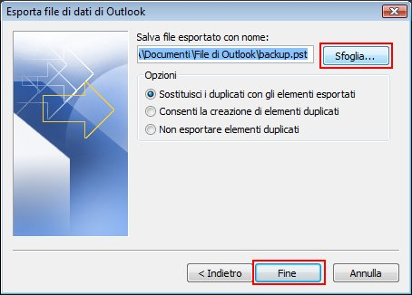 Schede del blocco appunti in OneNote 2007