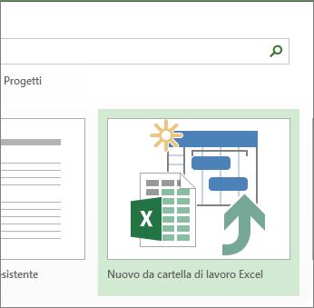 Modello di cartella di lavoro di Excel