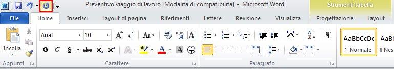 Elenco di completamento automatico con l'icona di eliminazione