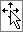 Cursore a freccia con l'icona di spostamento