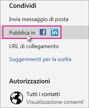 Specifica di un social network per la pubblicazione
