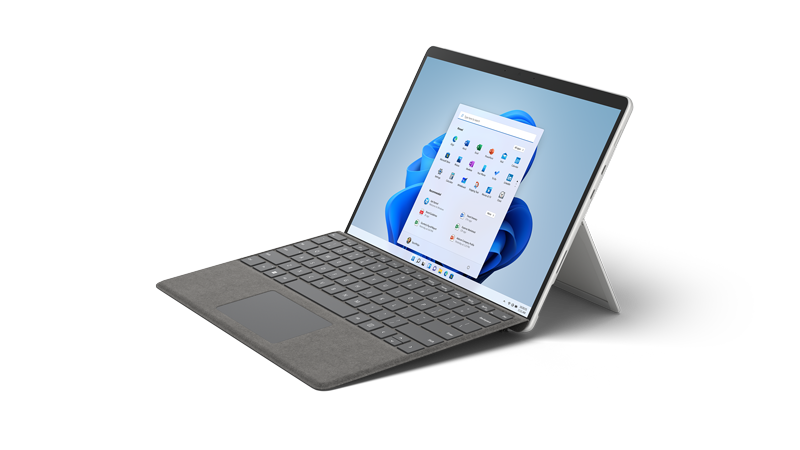 Rendering di Surface Pro 8