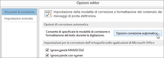 correttore ortografico italiano word 2010