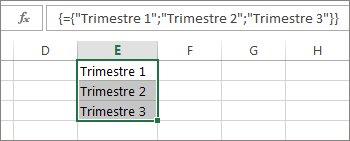 Costante di matrice verticale che utilizza testo