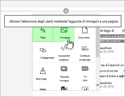 Selezione app Web moderna con Immagine evidenziata