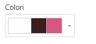 Cambiare i colori del sito