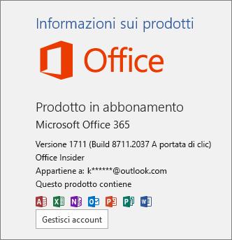 Office Insider Build