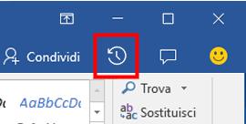 Visualizzare le versioni storiche dei file di Office