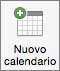Pulsante Nuovo calendario in Outlook 2016 per Mac