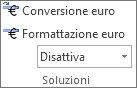 Conversione euro e Formattazione euro