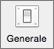 Verrà visualizzata l'icona generale nelle preferenze di Outlook.
