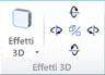 Gruppo Effetti 3D WordArt in Publisher 2010