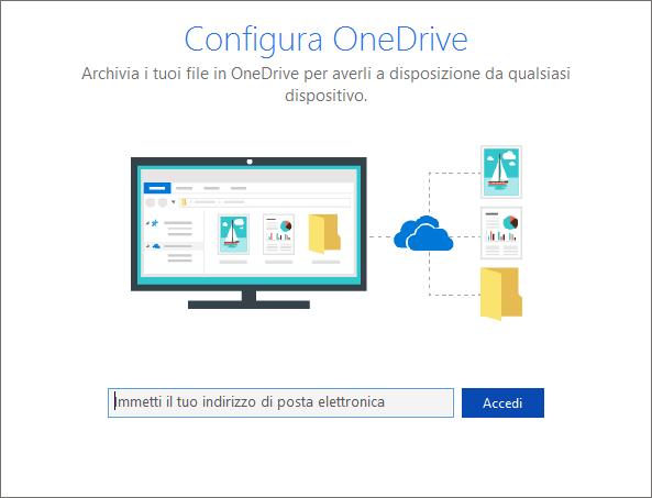 Sincronizza configurazione con SharePoint Online