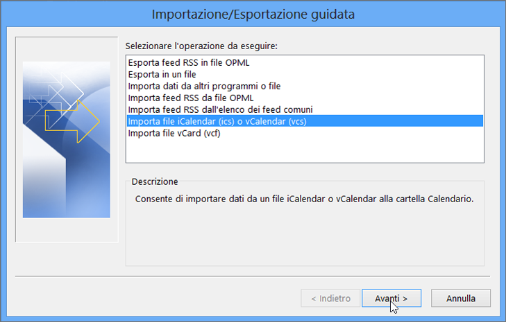 Esportare Calendario Outlook.Importare Google Calendar In Outlook Supporto Di Office