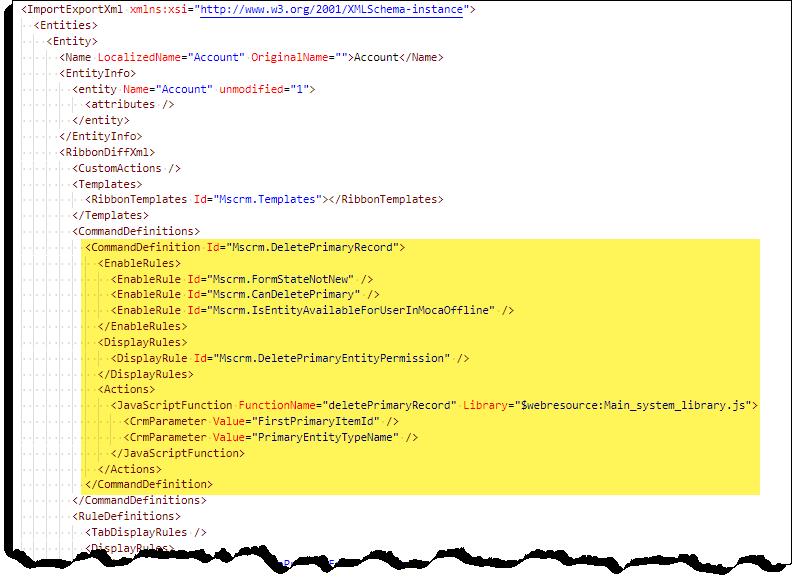 Comando Checker-comando-non fa nulla-XML