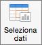 Nella scheda Struttura grafico fare clic su Seleziona dati
