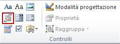 controllo contenuto raccolta blocchi predefiniti
