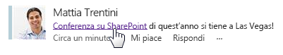 Creare post di newsfeed avanzati