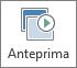 Pulsante Anteprima nella scheda Transizioni