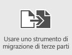 Usare strumenti di migrazione di terze parti per eseguire la migrazione delle cassette postali in Office 365