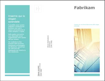 Modello di brochure in PowerPoint Online