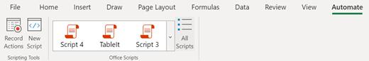 Barra multifunzione script