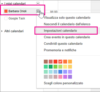 Calendario 2106.Visualizzare Il Calendario Di Google Calendar In Outlook