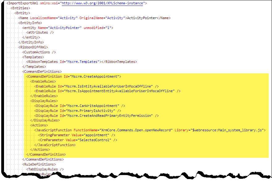 Command Checker - Appointment - Command - XML