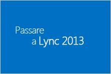 Passare a Lync 2013