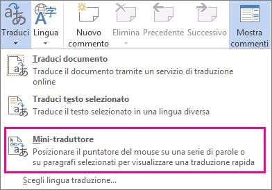 Mini-traduttore