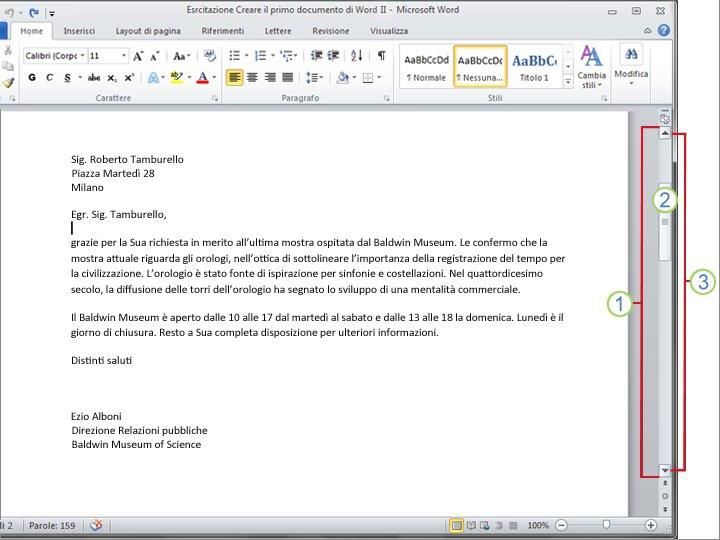 Documento di Word 2010