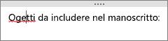 OneNote controlla automaticamente la presenza di potenziali errori di ortografia
