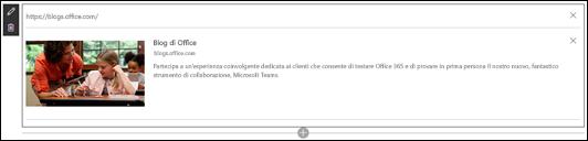 Web part Collegamento