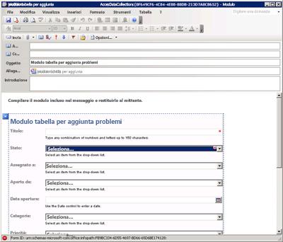 Schermata di accesso a Office 365