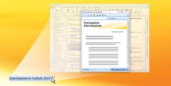 Esercitazione in Outlook 2010