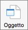Pulsante Oggetto