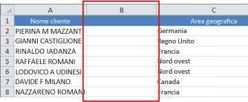 Barra degli indirizzi con indirizzo del modulo visualizzazione