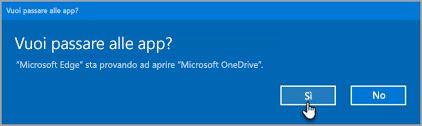 Richiesta di App di Office 365 parametro