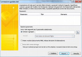 Inviare e salvare i dati dei moduli