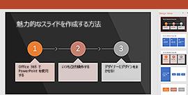 PowerPoint デザイナー機能