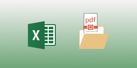 Excel for Android で PDF ファイルを表示