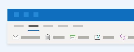 Outlook には新しいユーザーエクスペリエンスがあります。