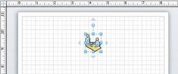 オートコネクト矢印付きの図形