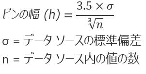 自動化の数式オプション