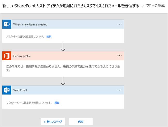 フローを接続する Microsoft フロー サイト上の指示をに従ってください。