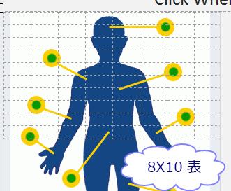 表 (8 行 x 10 列)