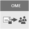 OME を説明する概念アートワーク
