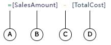 計算列の数式