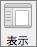 Word 環境設定の [表示] ボタン